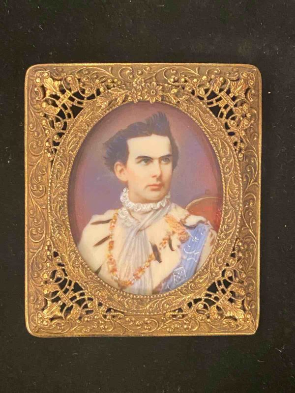 Miniaturmalerei von König Ludwig II