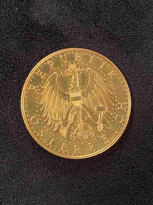 Rückseite der Schilling Münze