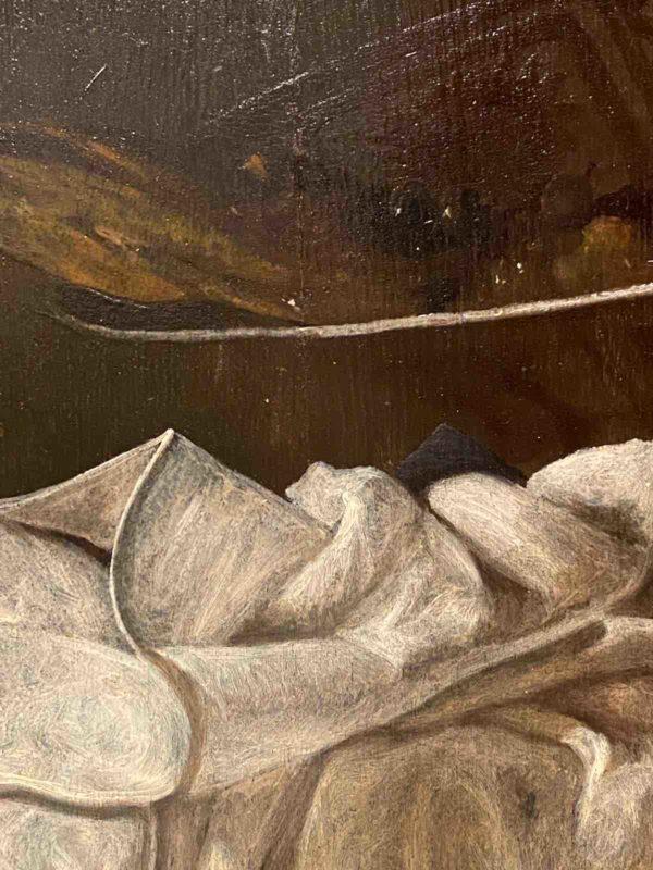 Nahaufnahme des Gemäldes