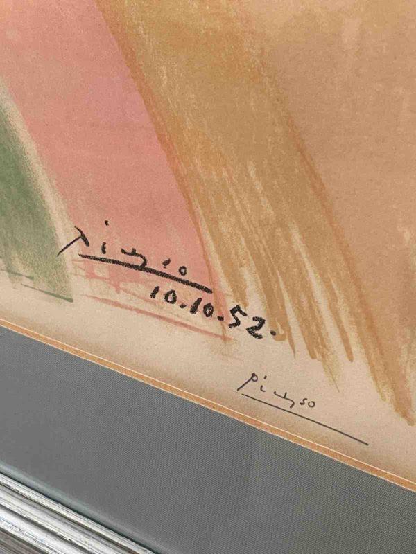Signatur von Picasso