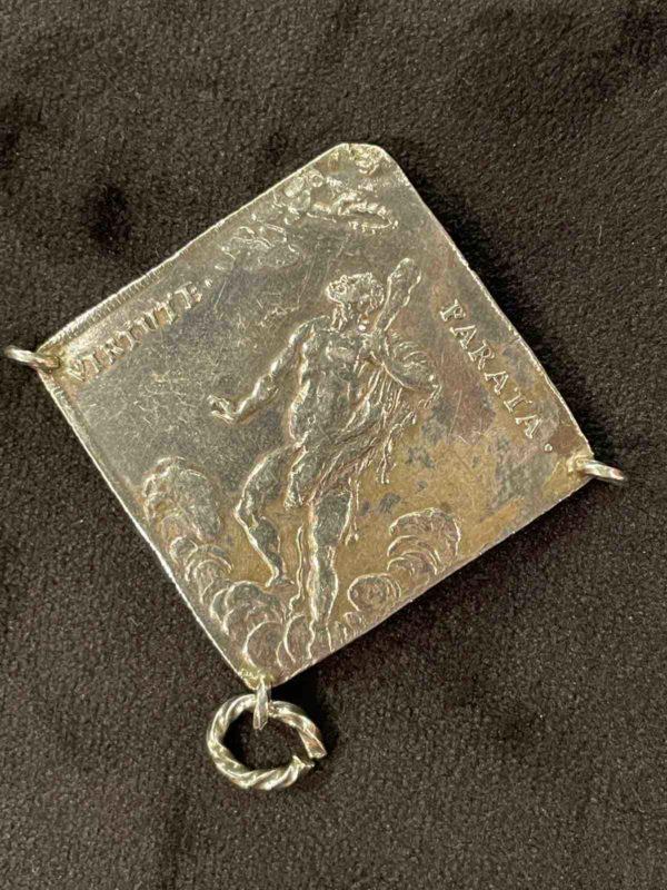 Rückseite der silbernen Münze