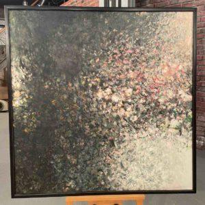 Abstraktes Ölgemälde