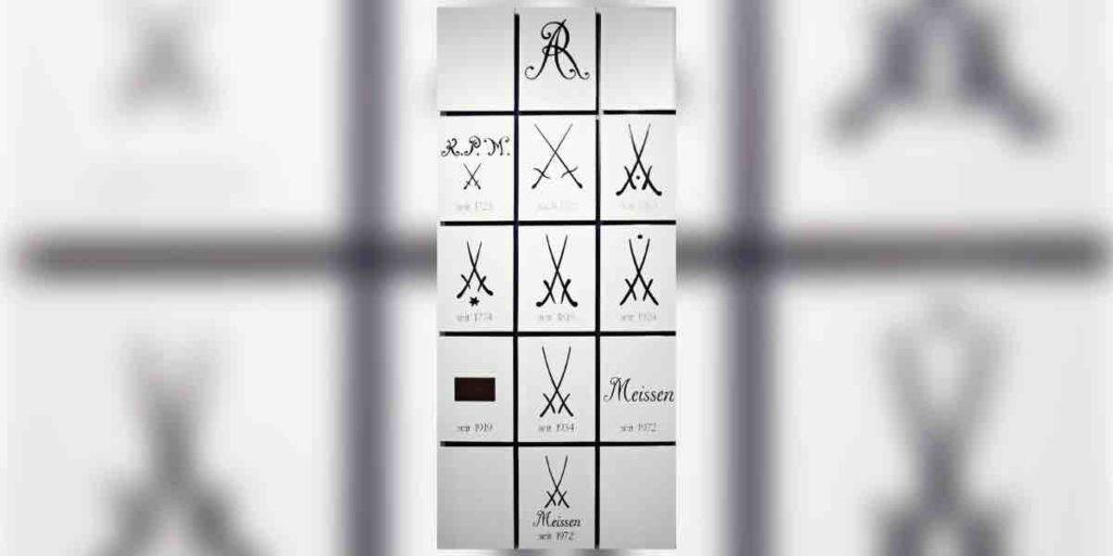 Die verschiedenen Meissen Logos