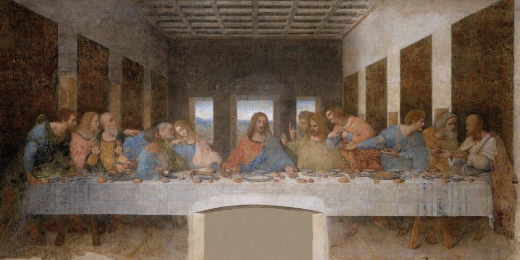 Gemälde des Abendmahles
