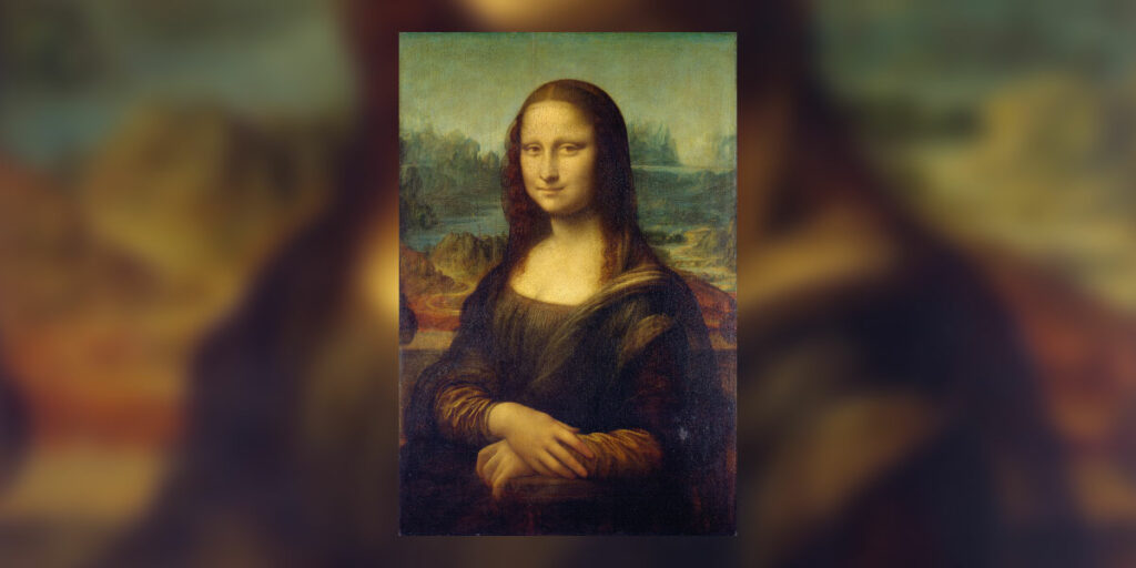 Gemälde der berühmten Mona Lisa
